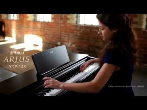 yamaha digital piano arius ydp 143 overview youtube. Black Bedroom Furniture Sets. Home Design Ideas