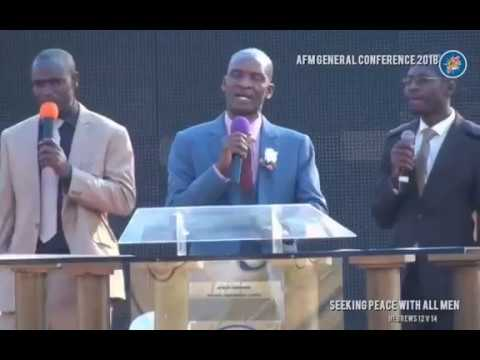 REV CHIYANGWA - AFM RUFARO GENERAL CONFERENCE 2018