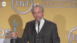 Michael Douglas   Press Room   SAG Awards