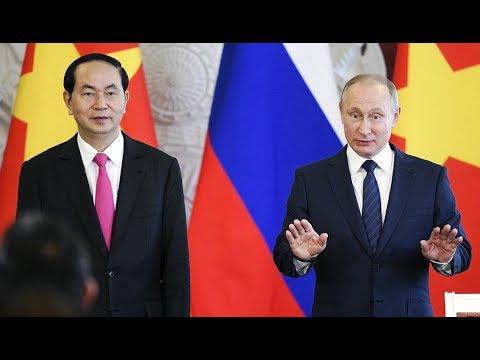 Lễ ký kết tại Điện Kremlin - Tổng kết chuyến thăm Nga của CT Trần Đại Quang [Tiếng Việt]