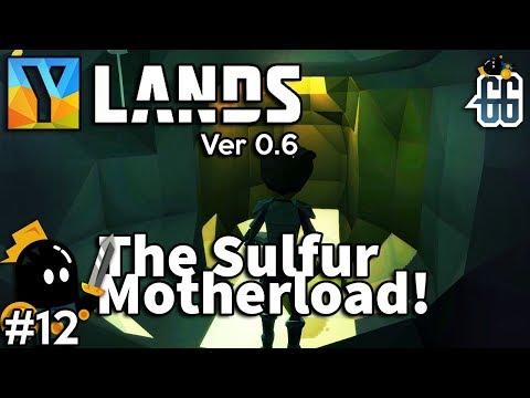 Ylands - Jackpot!  Huge sulfur deposit! - EP12 ✔