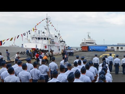 Finally, The Philippine Coast Guard's has New PH patrol vessels built by Japan