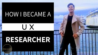 HOW I GOT A JOB AS A UX RESEARCHER (from biology/psychology to tech!) | Zero to UX