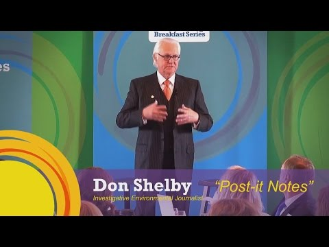 Sparks of Goodness: Don Shelby and the Post-It Notes