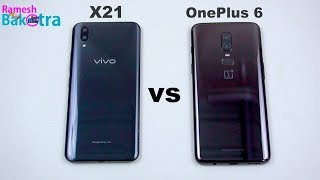 Compare of Vivo X21 vs Oneplus 6 , we open some apps same time & ca...
