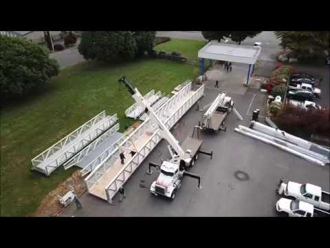 Topper Industries- Woodland WA- Shipping 100'x9' Bridge