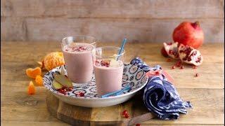 Pomegranate & Almond Smoothie