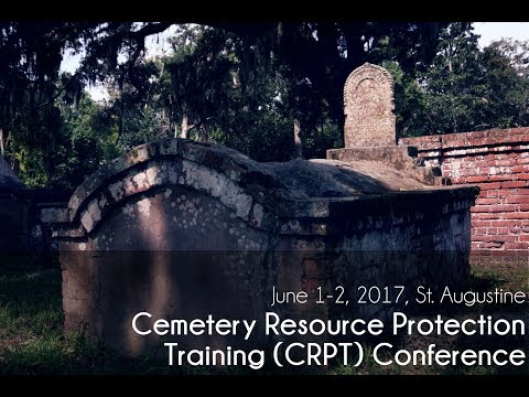 Monitoring Cemeteries through HMS Florida, Rachael Kangas, CRPT 2017