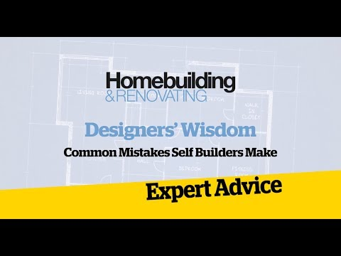Common Mistakes Self Builders Make