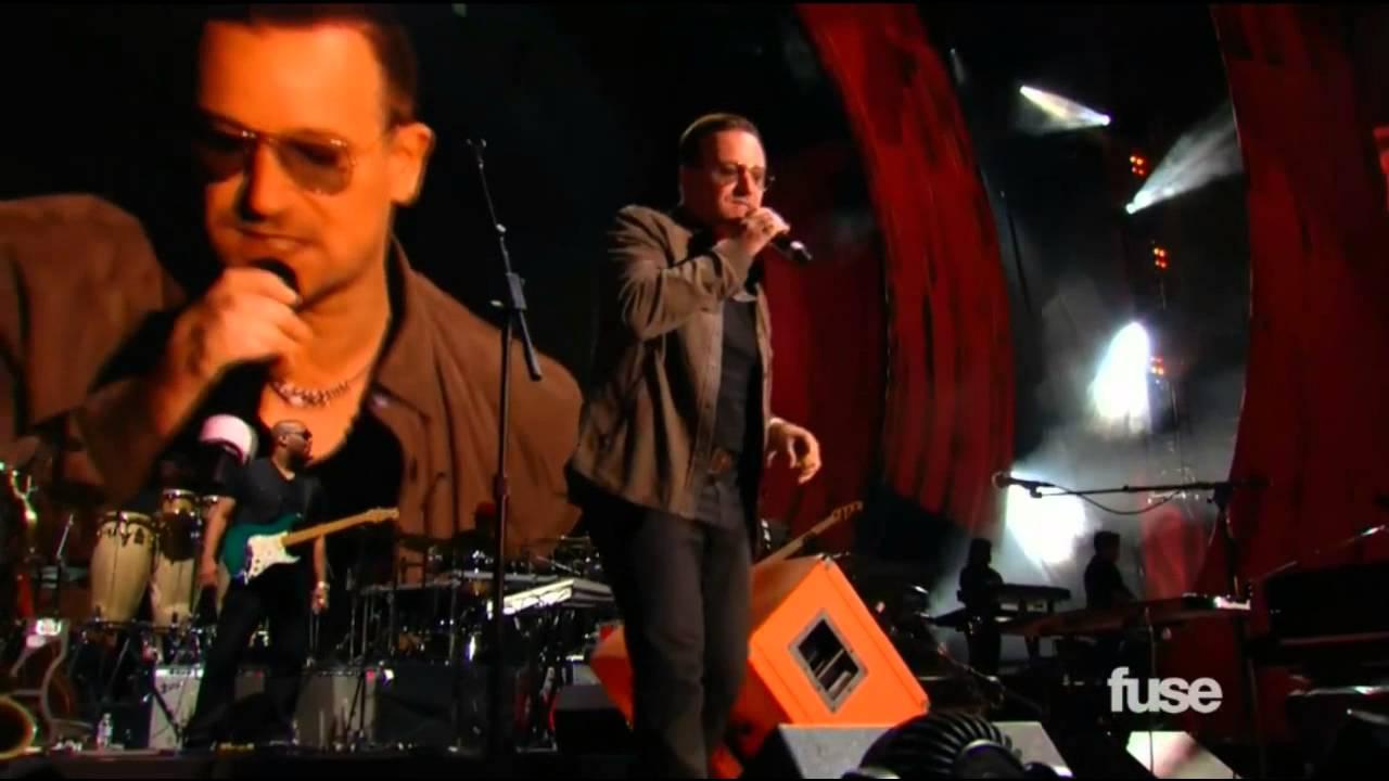 U2News - Bono introduces Stevie Wonder - Global Citizen Festival 2013