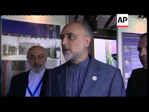 Iran FM comments on sideline of Non-Aligned Movement summit