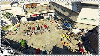 BIGGEST SUPERCAR MEET IN GTA 5!! (GTA 5 GAMEPLAY)
