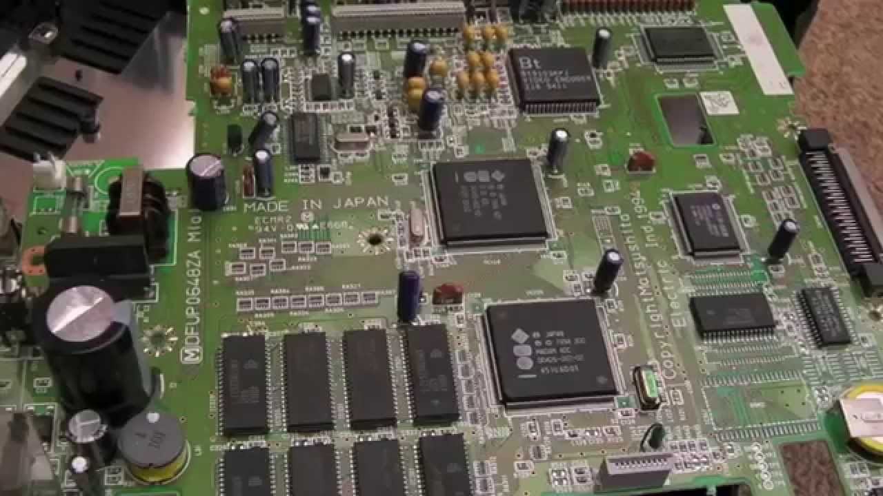 Panasonic 3do Crackling Sound Repair Fz 1 Youtube Circuit S1 Is Working But No Came Out When The Audio Signal To