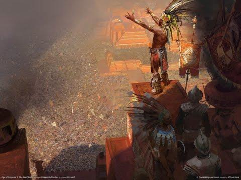 Age of empires III aztecas vs españoles experto