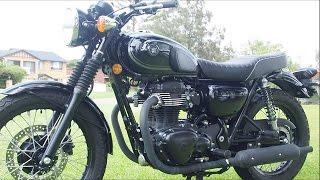 Kawasaki W800 SE Black Edition Bike Test