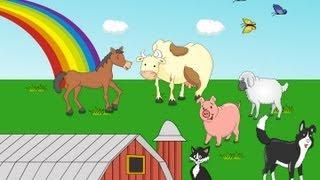 Repeat youtube video Dans la ferme à Mathurin