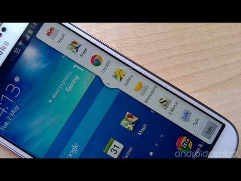 Multi-window On The Samsung Galaxy S4
