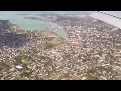 Antigua | Landing at VC Bird International on Virgin Atlantic