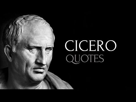 🔴 Cicero Quotes - Top Quotes from Cicero (HD High Quality)