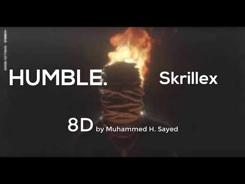 Kendrick Lamar HUMBLE Skrillex Remix (8D Music) | use Headphones