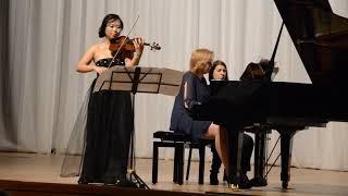 Фрагмент концерта Чан Ти Хе в Биробиджане