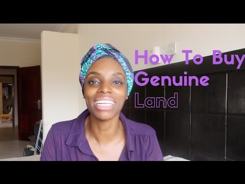 How To Buy Genuine Land