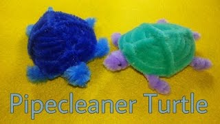 Pipecleaner Crafts - Turtle