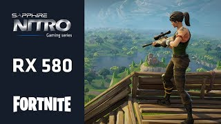 Fortnite PC Gameplay and Performance - 1080p 60fps - NITRO+ RX 580 8GB