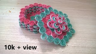 Tutorial #5 Quilling Box    How to make    CCA