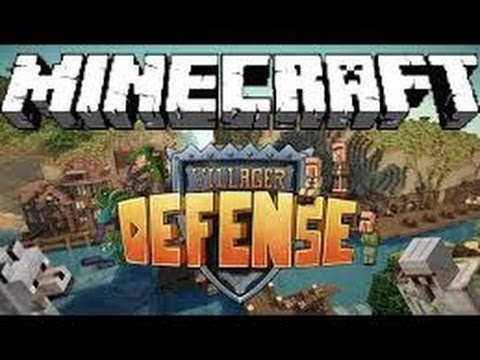 Minecraft Villager Defense -Ep 1 Respawn