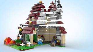 Lego Creator | 31038 | Changing Seasons | Lego 3d Review