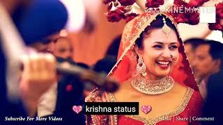 😘New romantic, love whatsapp status video, cute status, wedding status video