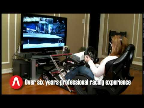 Apexvstand Racing Simulator Steering Wheel Stand Youtube