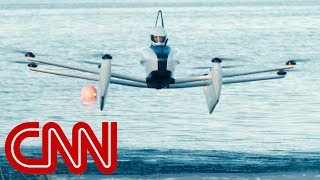 CNN reporter takes to the sky in flying car thumbnail