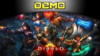 Diablo 3 Gameplay [PS3] - Demo (em português BR)