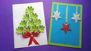 DIY : Handmade Card!!! How to Make Beautiful Paper Card For Christmas /Birthday/Greetings card!!!