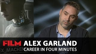 Alex Garland: Career in Four Minutes