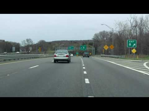 Interstate 395 - Massachusetts (Exit 6) southbound