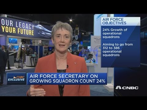 Air Force Sec. Wilson: Space Force could cost $13 billion over 5 years