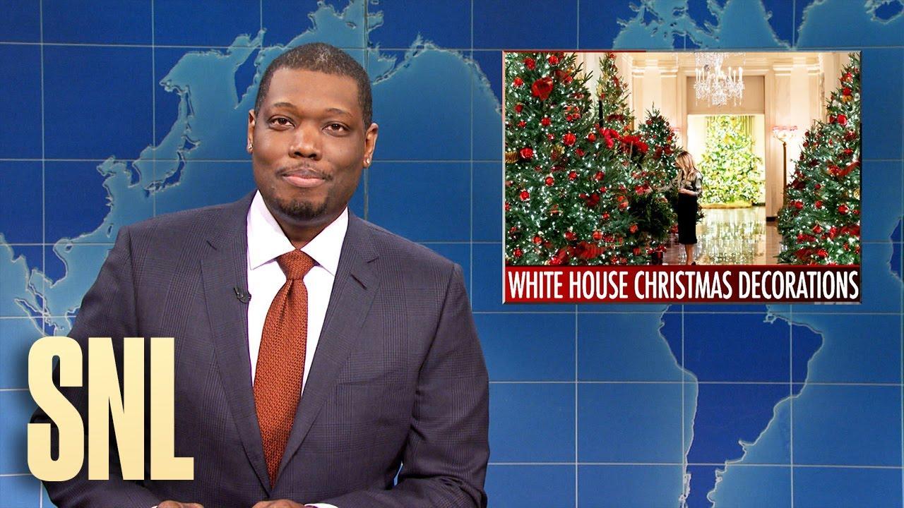 Weekend Update: Melania's Christmas Decorations, Hamilton Returns - SNL