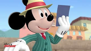 Mickey Mouse Clubhouse | Mickey and Minnie Visit Italy! | Official Disney Junior UK HD