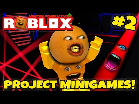 Roblox: Project Minigames #2: LASER FARTS! [Annoying Orange Plays]
