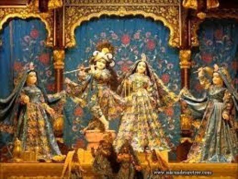 Sri Sri Radha Madhav Temple Mangal Arati Darshan 25th May 2018 Live from ISKCON Kanpur
