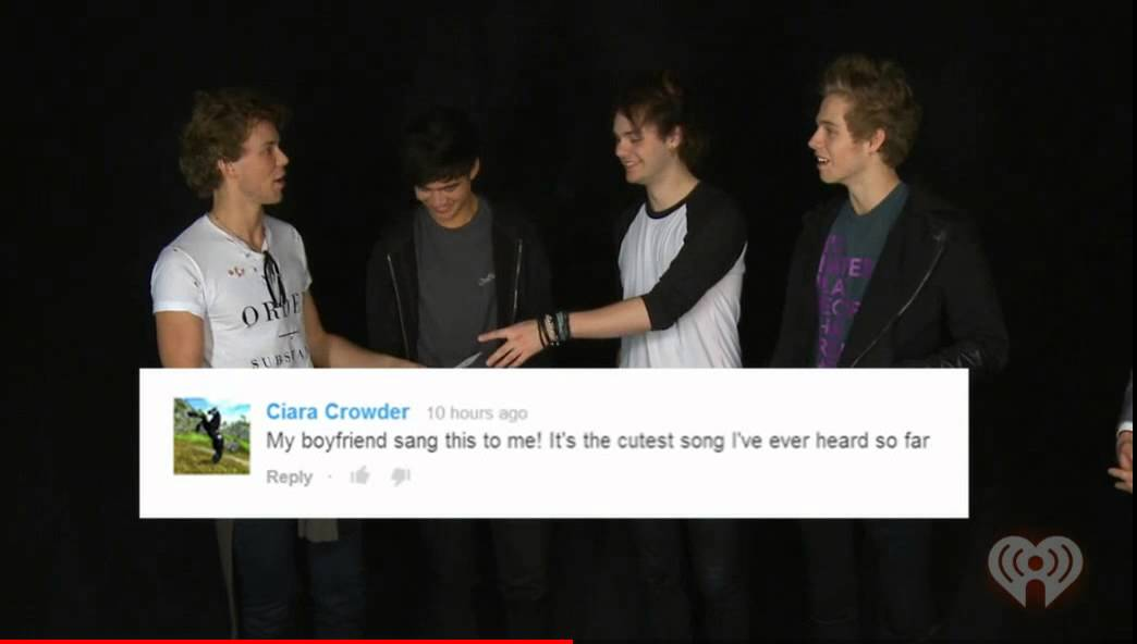 5SOS Sings YouTube Comments