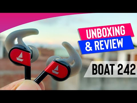 Boat Bassheads 242 Unboxing and Review