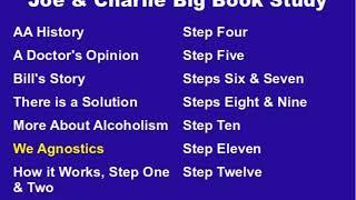 Joe & Charlie Big Book Study Part 6: We Agnostics