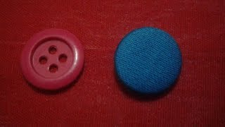 HOW TO MAKE  A  FABRIC BUTTON | shaheen tailors