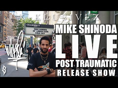 Mike Shinoda Live! Post Traumatic Album Release Show - Gramercy Theatre: New York 6/20/2018