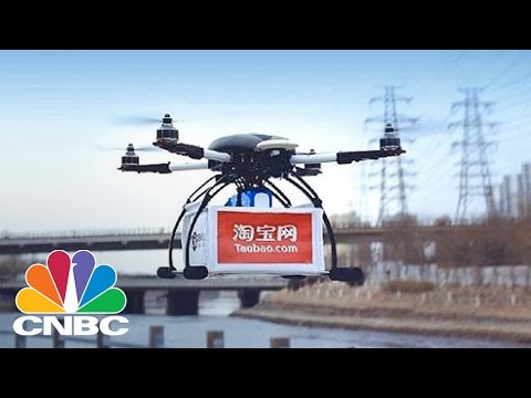 Alibaba Tests Drone Delivery Service | CNBC