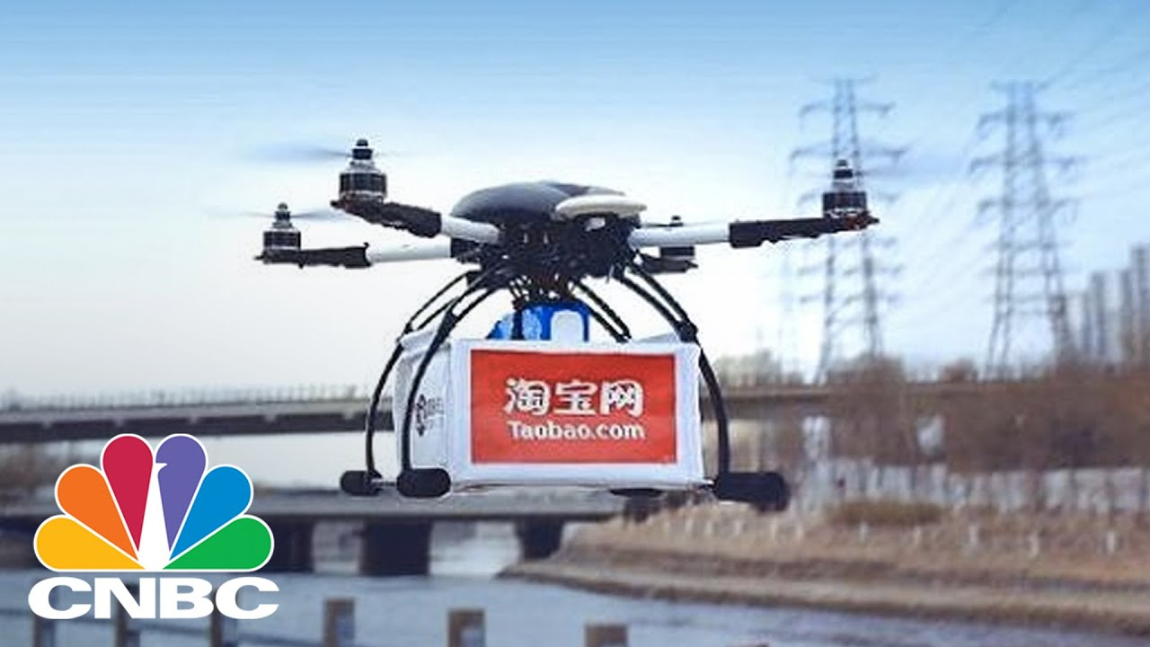 Alibaba Tests Drone Delivery Service